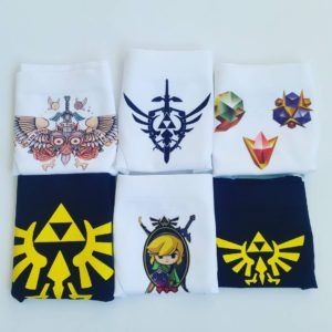 Zelda Panties Pack - Best Gift Idea for Gamer Girls - Geeky Underwear by Altpanties