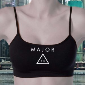 Ghost In The Shell Bralettes - I am Major Croptops